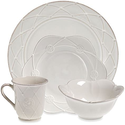 bed bath and beyond meridian meridian white decorated dinnerware collection bed bath