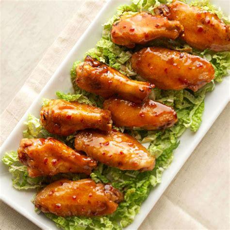spicy peking wings