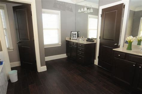 dark wood tile bathroom dark wood floor wide panels floor ideas pinterest