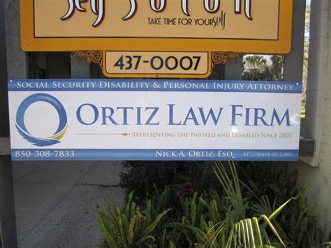 Social Security Office In Pensacola Florida by Lawyer Nick Ortiz Pensacola Fl Attorney Avvo