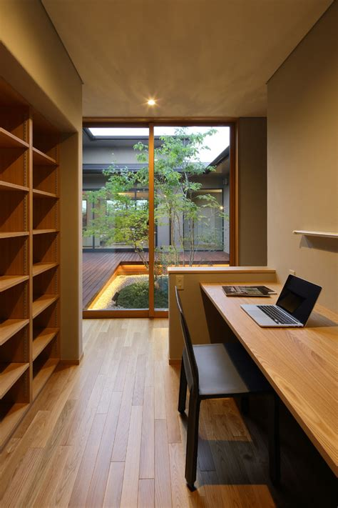 sophisticated asian home office designs