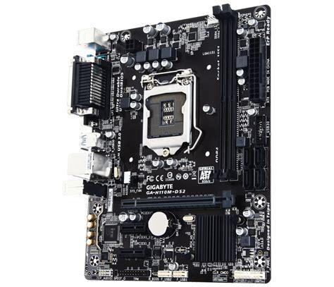 Harga Murah Gigabyte Ga H110m Ds2 Socket 1151 placa base gigabyte intel h110m ds2 lga 1151 informatica megasur