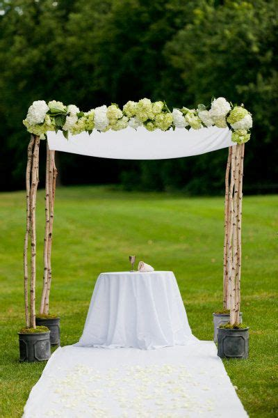 Wedding Arch Purpose by Garrison Wedding From Wight Photography