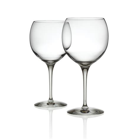 buy alessi mami xl red wine glasses set of 2 amara