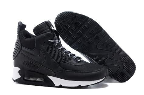 Nike Airmax High Black 2015 nike air max 90 high tops sneakers for black white