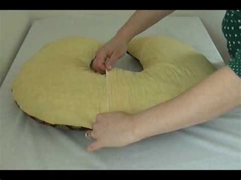 How To Make A Boppy Pillow Cover by How To Sew Make A Boppy Nursing Pillow Cover