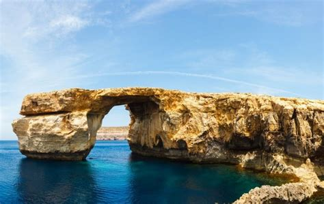 azure malta malta s iconic azure window collapses into the sea the