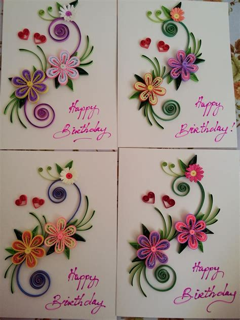 Paper Quilling Card Designs