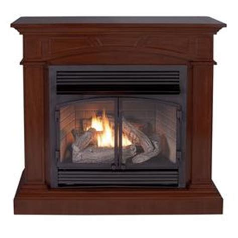 Cedar Ridge Fireplace shop cedar ridge hearth 44 53 in dual burner vent free mink corner or wall mount liquid propane