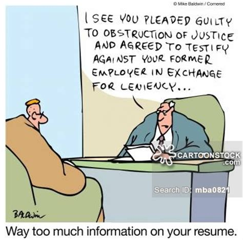 Good Resumes For Jobs by Plea Bargain Cartoons And Comics Funny Pictures From
