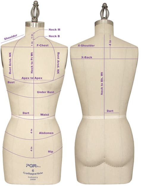 dress form template pgm dress form mannequin for sewing draping