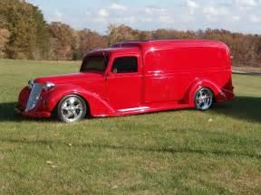 1936 dodge panel truck custom retro rod classic cars r