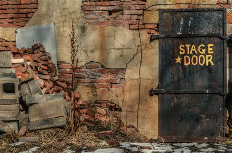 brown brick wall  stock photo