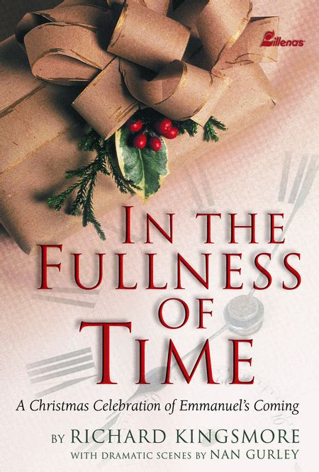 In The Fullness Of Time Book Sheet Music By Richard