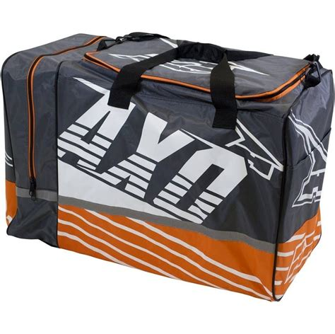 gear bags motocross axo weekender grey orange gear bag