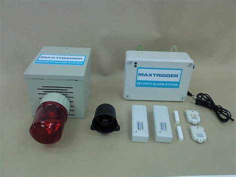 wired home security wireless home alarm burglar alarm