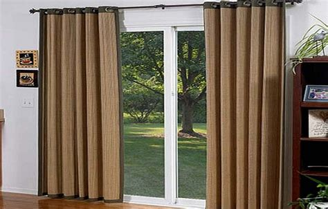 Grommet Curtains For Sliding Glass Doors Doggy Door For Grommet Drapes For Sliding Glass Doors