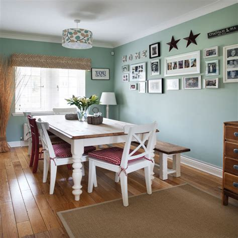 pale green country dining room ideal home