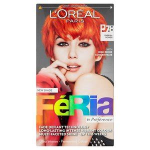 ginger hair color at home feria 7 8 into the red