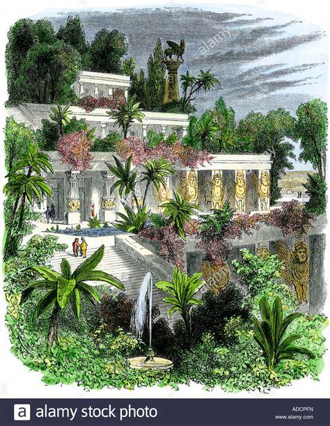 giardini pensili di babilonia foto giardini pensili di babilonia antica foto immagine stock