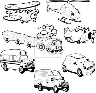 Car Sticker Cern by Sticker Vehicles In Outline And Vector
