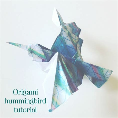 Origami Hummingbird Tutorial - origami cupid s arrow tutorial the paperdashery
