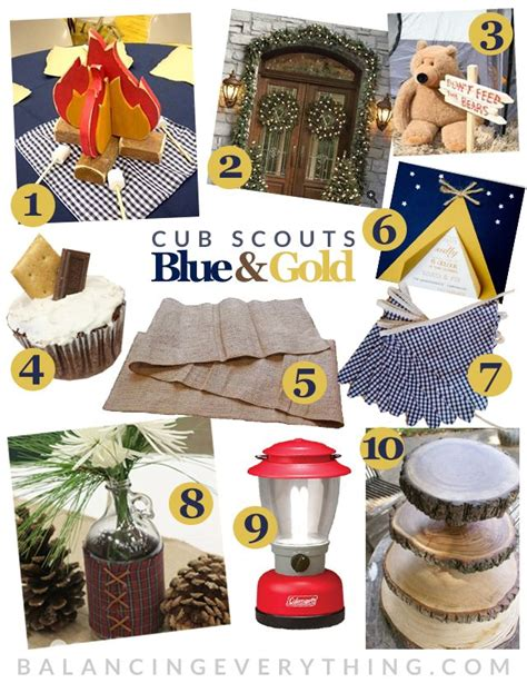 blue gold themes ideas cub scout blue and gold table decoration ideas photograph