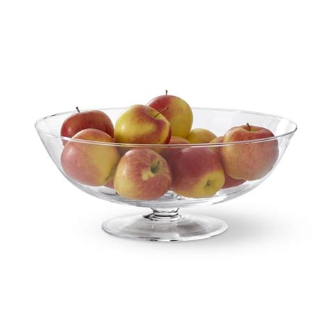 fruit bowl glass fruit bowl williams sonoma