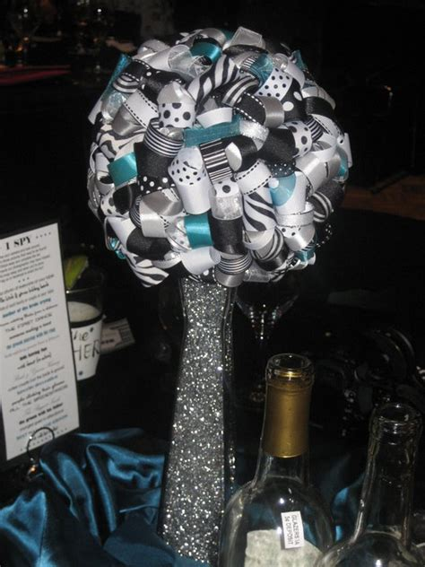 black and silver wedding centerpieces aminatta s wedding reception lavender and tables