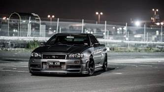 Nissan Skyline R34 Gtr Nissan Skyline R34 Wallpapers Wallpaper Cave