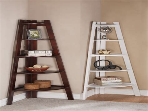 appealing design corner shelf ideas features white and