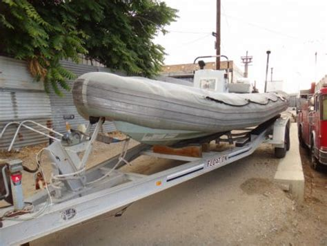 1998 18 foot zodiac rigid hull inflatable inflatable for - Inflatable Boats For Sale Los Angeles
