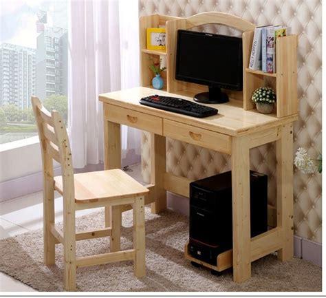 mesa de escritorio de la computadora de madera barata para