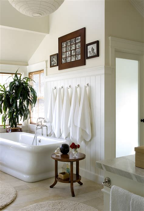 Modern Cottage Bathroom Cottage Modern Eclectic Bathroom Los Angeles By Chambers Interiors Inc