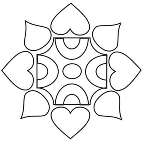 pattern of drawing rangoli printable design patterns rangoli design coloring