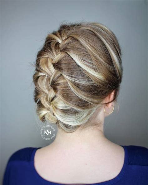 braided conservative up do 20 cute and easy hairstyles for work