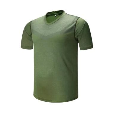 Kaos Army Givency Import jual ping fu shi in out sport import kaos olahraga pria hijau army p032 original