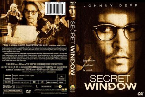 film secret window adalah secret window movie dvd custom covers 872secret window