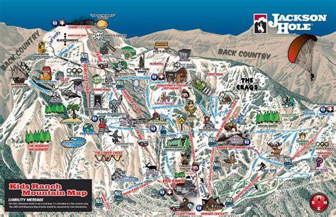 jackson usa maps jackson piste maps and ski resort map powderbeds