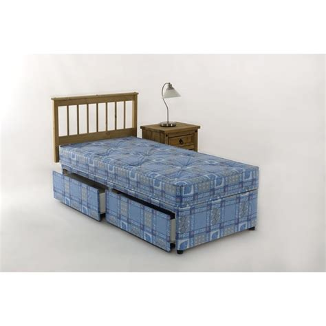 Single Divan Bed With Drawers by 2ft6 Single Divan Bed Set