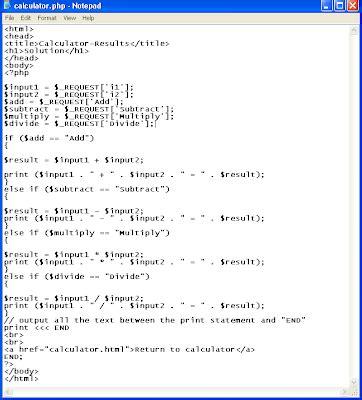 calculator html code joomla php applications php calculator
