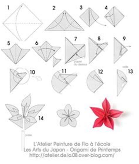 Fleur Origami - 1000 ideas about origami fleur on boucle d