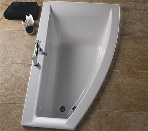 offset corner shower bath twyford indulgence 1600 x 500 1000mm offset corner shower