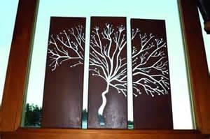 garten trilogie edelrost wandbild trilogie baum garden dekoshop