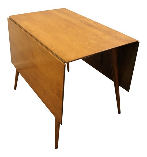 mid century drop leaf table paul mccobb mid century modern drop leaf table chairish