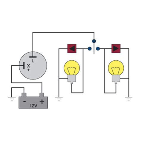 2 prong flasher wiring diagram 3 prong switch diagram
