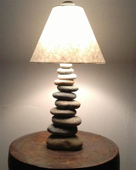 Cool Lamp by Cool Lamp Made Of Stones Found In Nh Reclaimed To