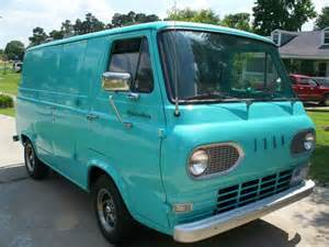 sell used 1964 ford econoline cargo 3 speed trans