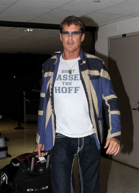 Style Icon Dont Hassel The Hoff by David Hasselhoff At Lax Zimbio