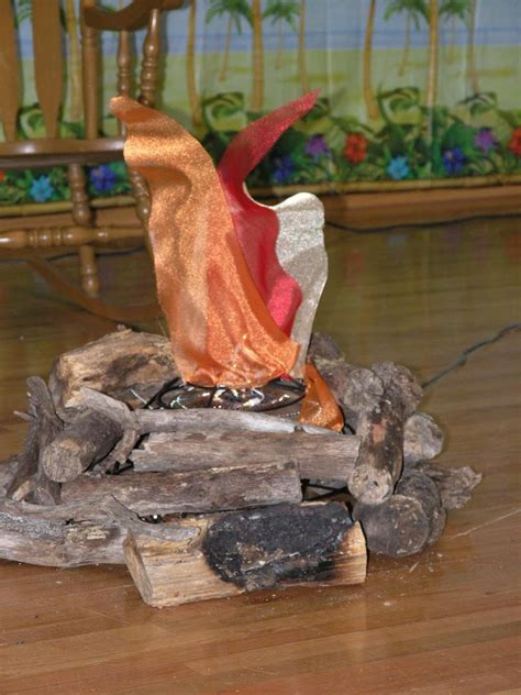 Fire Pit Crystals - crafts amp hobbies creating fake fire walk for luau 1 by sanditx